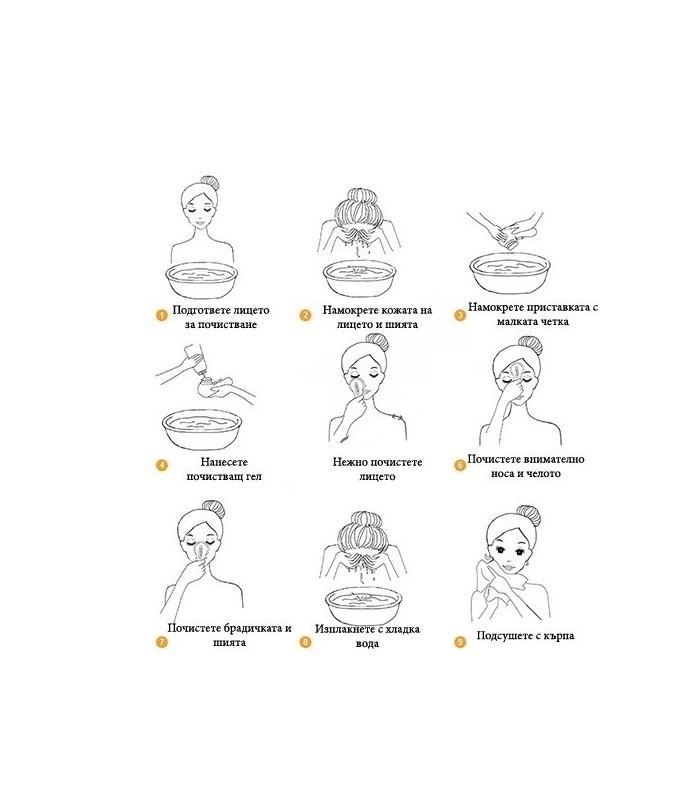 Уред за почистване на лицето Cnaier 4 в 1