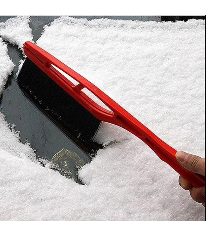 Стъргалка за лед с четка за автомобил