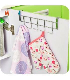 Закачалка за кухненски шкаф с 5 кукички