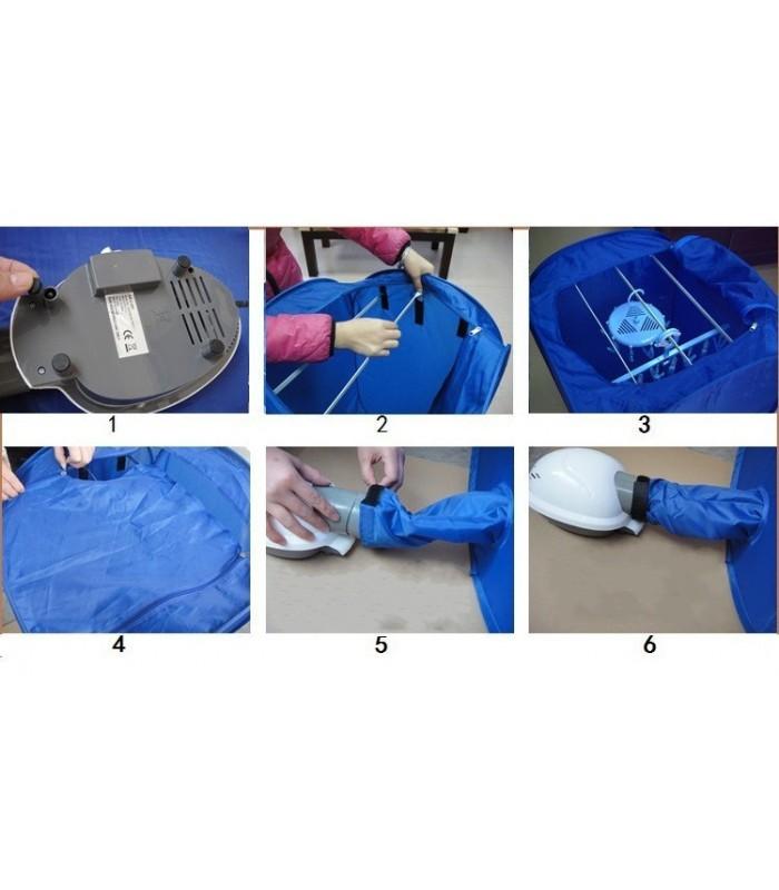 Преносима електрическа сушилня за дрехи Air-O-Dry