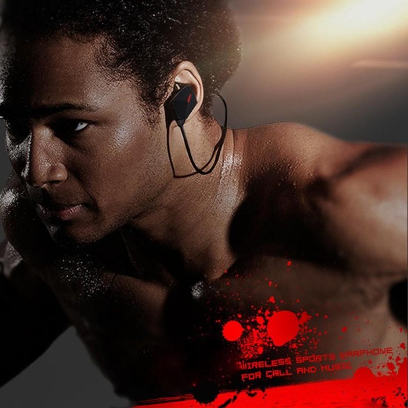 Безжични блутут слушалки за спорт - код 447