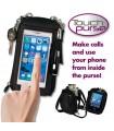 Портфейл и кейс за телефон всичко в едно Touch Purse