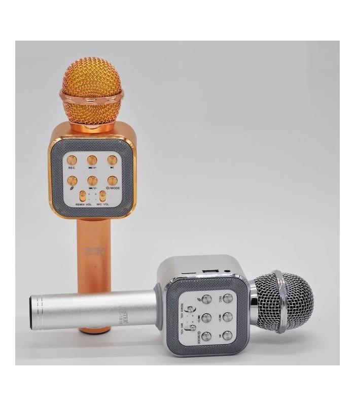 Караоке блутут микрофон модел 1818 - 4
