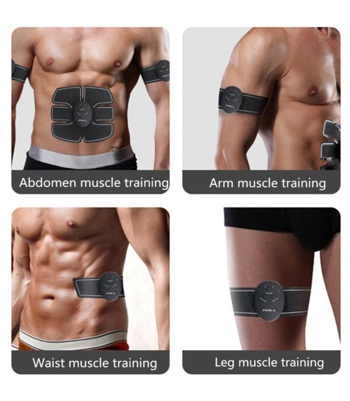 Електростимулатор Six pack EMS за стягане на мускулите - 9