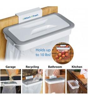 Поставка за торби за боклук с капак Attach-A-Trash