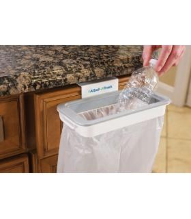 Поставка за торби за боклук с капак Attach-A-Trash - 6