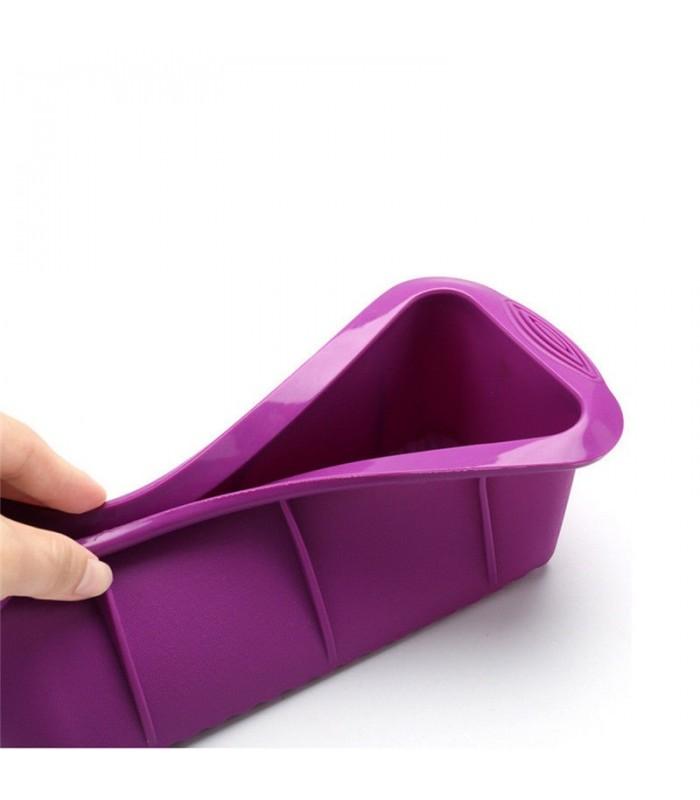 Правоъгълна силиконова форма за печене - 8