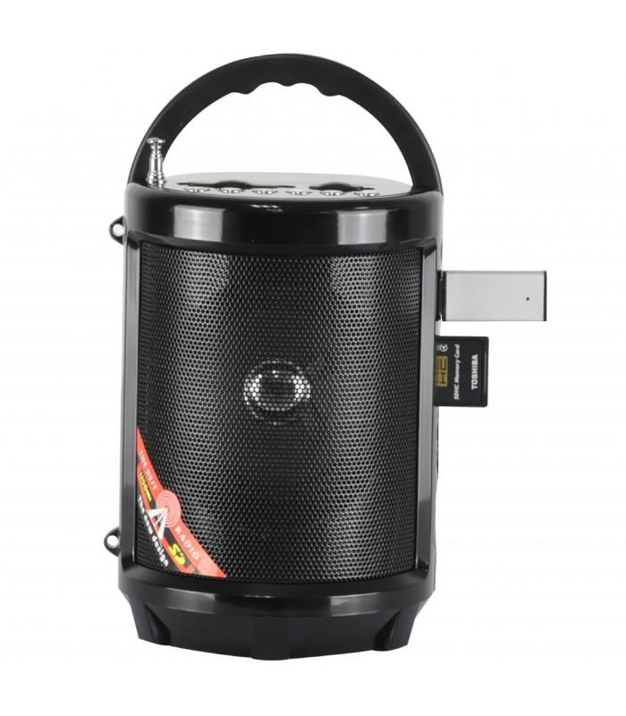 Портативно радио с USB флашка, фенерче и акумулаторна батерия - 2