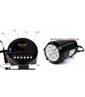 Портативно радио с USB флашка, фенерче и акумулаторна батерия - 4