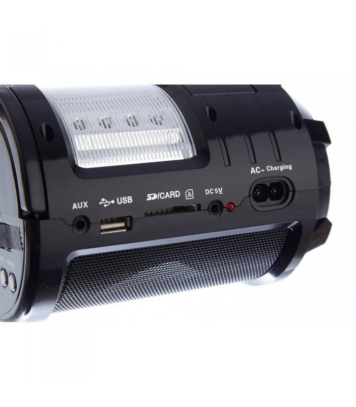 Портативно радио с USB флашка, фенерче и акумулаторна батерия - 5