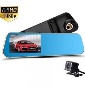 Камера за кола в огледало + камера за задно виждане
