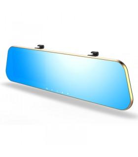 Комплект 1080P Full HD видеорегистратор в огледало и камера за задно виждане - 11