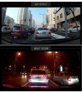 Комплект 1080P Full HD видеорегистратор в огледало и камера за задно виждане - 5