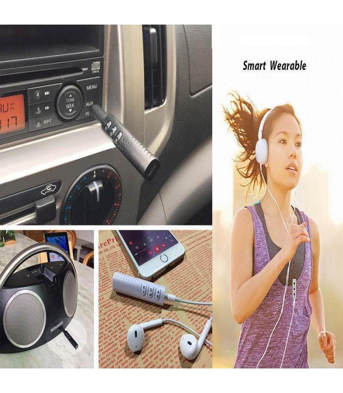 Безжичен блутут аудио приемник за кола с 3.5мм. жак - 2