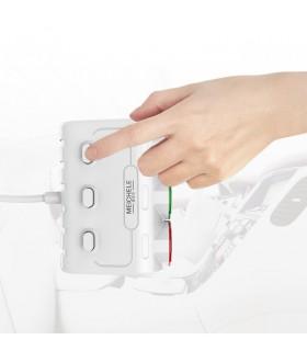 Волтметър с троен разклонител запалка за кола и 2бр. USB - 7