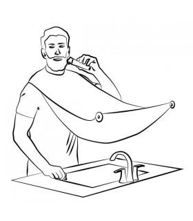 Престилка за бръснене с вендузи за огледало - 9