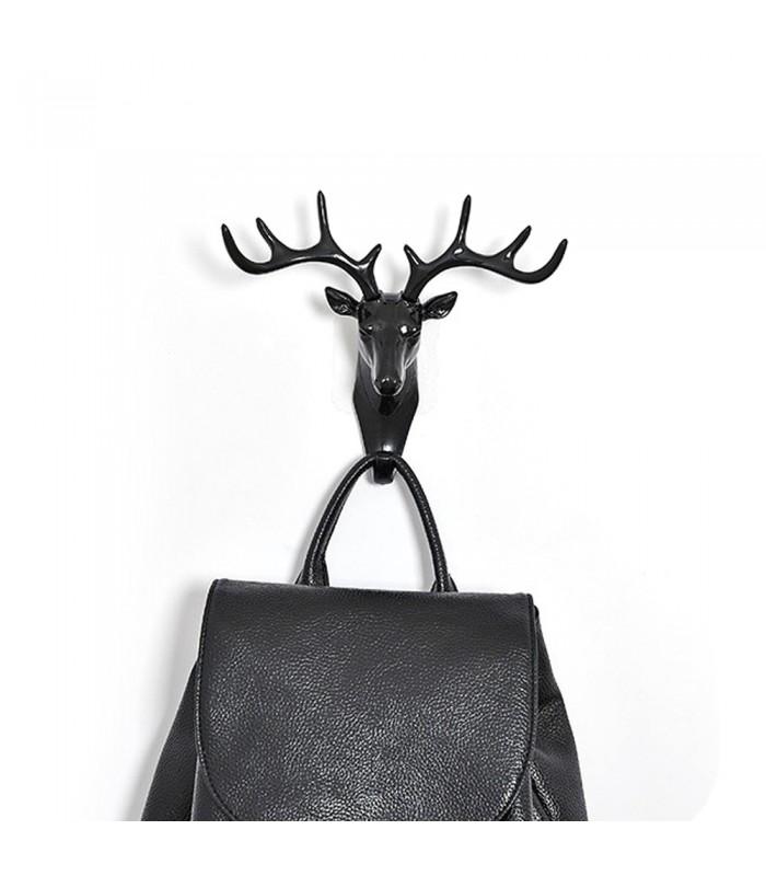 Закачалка за ключове еленска глава