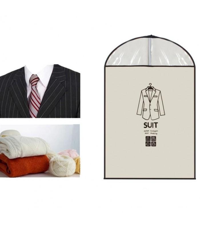 Калъф за костюми, палта, рокли – единичен - 9