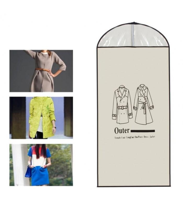 Калъф за костюми, палта, рокли – единичен - 10