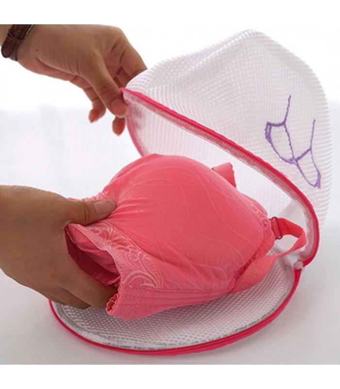 Мрежести торбички за пране в пералня - 2