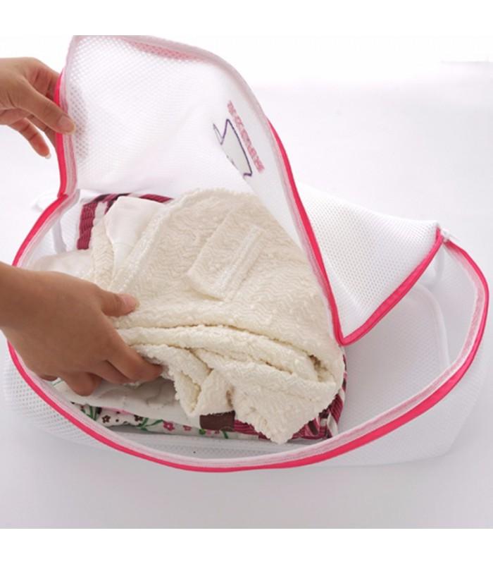 Мрежести торбички за пране в пералня - 4