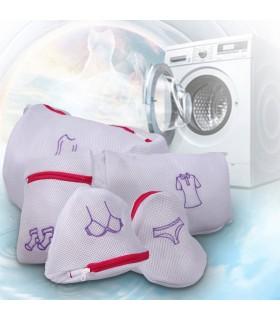 Мрежести торбички за пране в пералня - 5