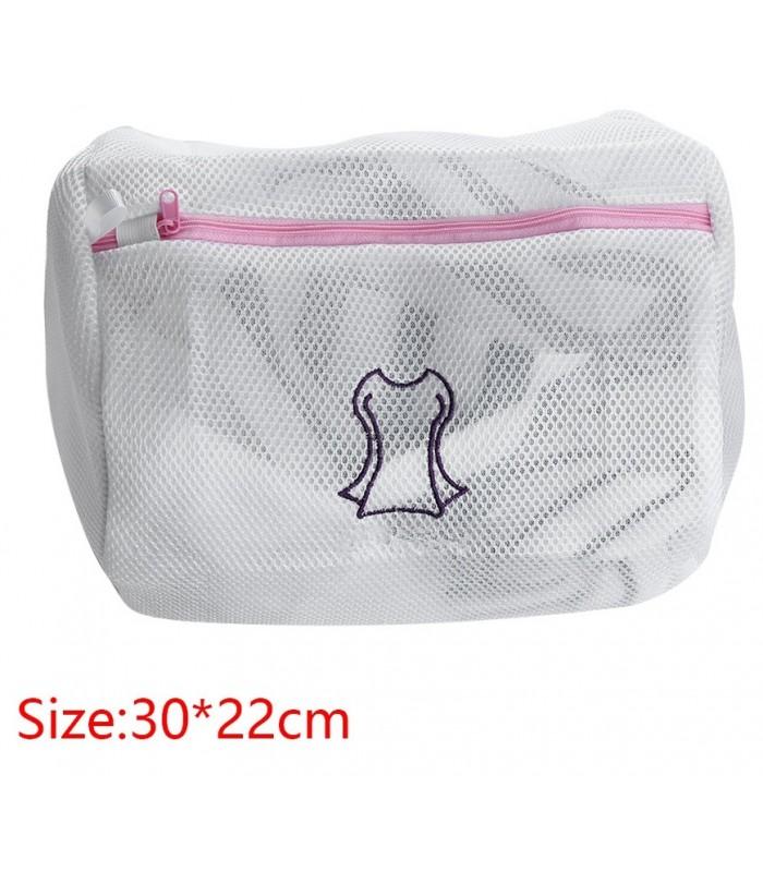 Мрежести торбички за пране в пералня - 10