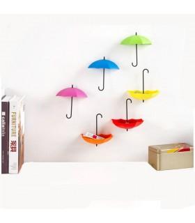 Лепящи закачалки чадърчета - 2