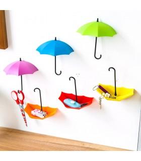 Лепящи закачалки чадърчета - 5