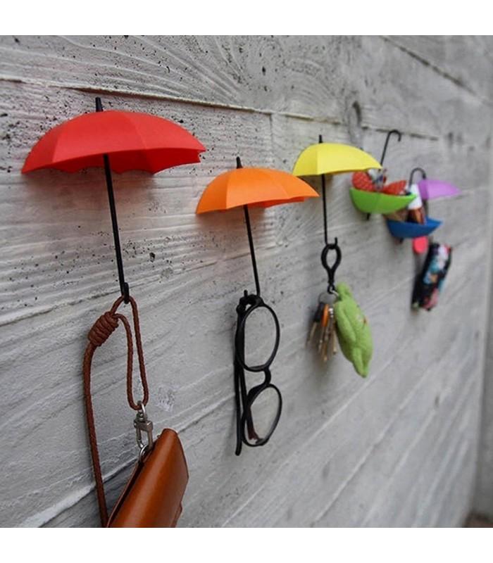 Лепящи закачалки чадърчета - 8