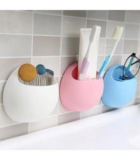 Поставка за четки и паста за зъби, домакински гъби и други - 1