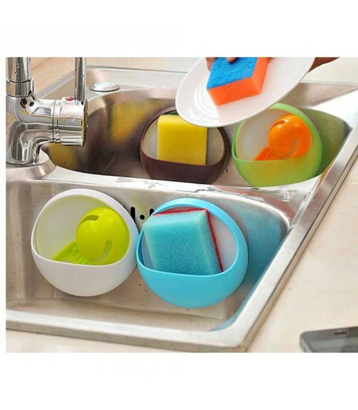 Поставка за четки и паста за зъби, домакински гъби и други - 3