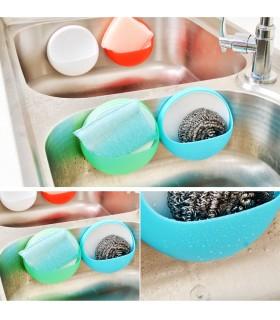 Поставка за четки и паста за зъби, домакински гъби и други - 8
