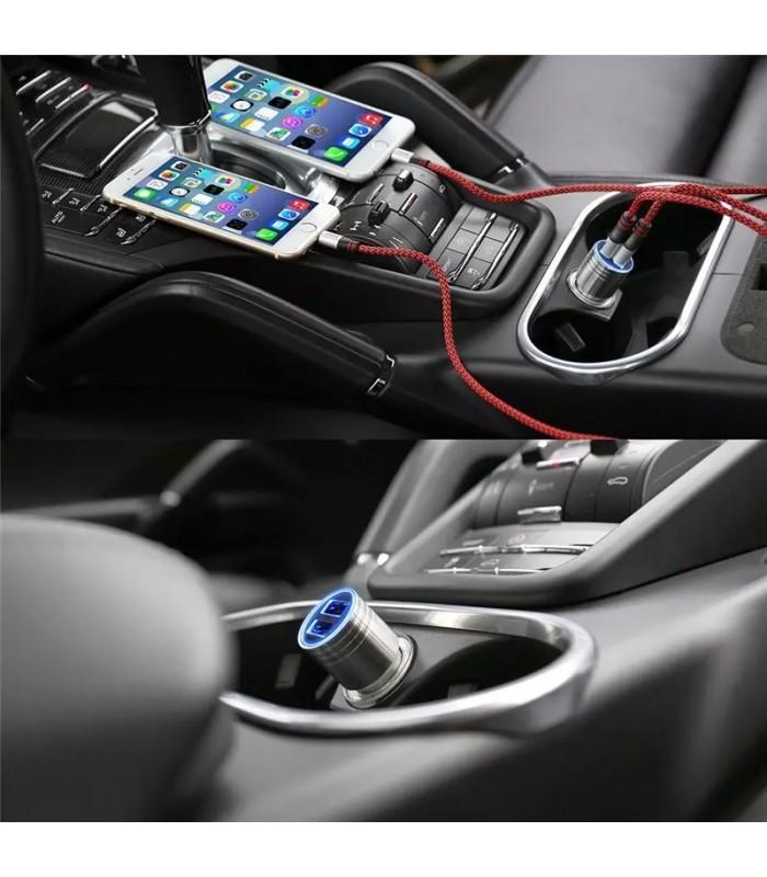 Двойно USB зарядно 3.1A за кола модел Hammer - 5