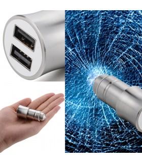 Двойно USB зарядно 3.1A за кола модел Hammer - 2