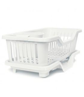 Сушилник за чинии с табла за директно отцеждане на водата в мивката - 6