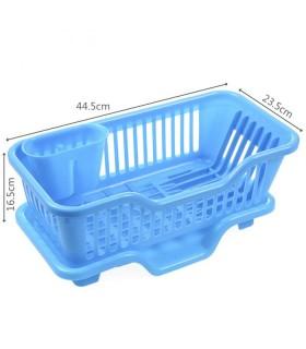 Сушилник за чинии с табла за директно отцеждане на водата в мивката - 8