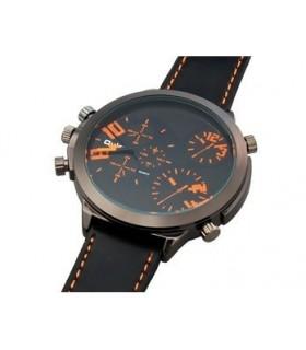 Елегантен мъжки часовник с кварцов механизъм 9423