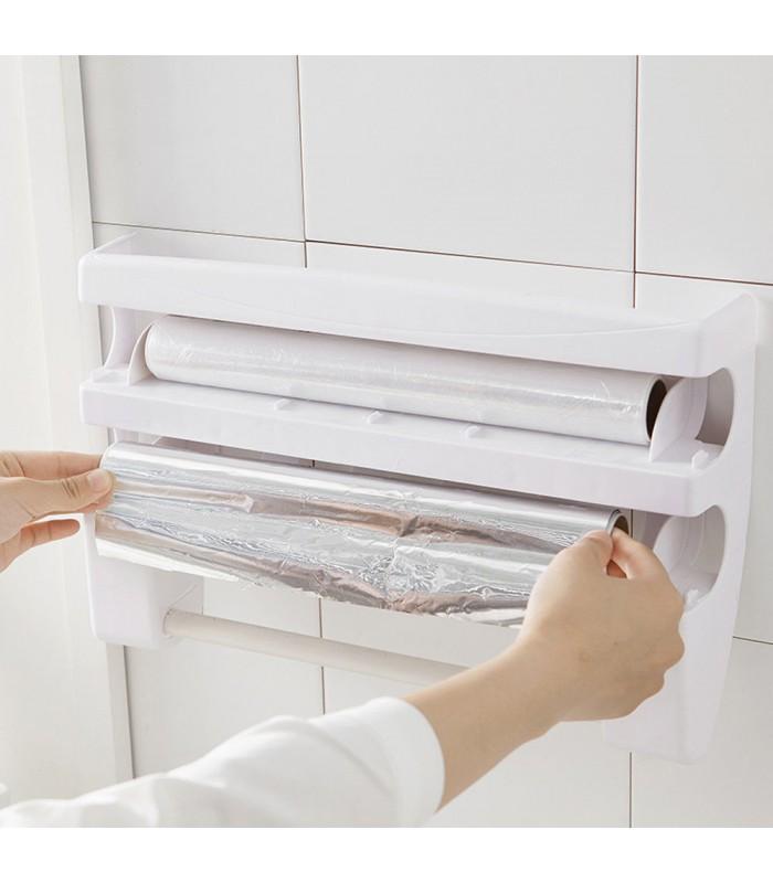 Диспенсър за кухненска хартия и фолио Triple Paper - 9