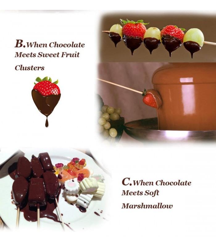 Мини фонтан за шоколад - 5