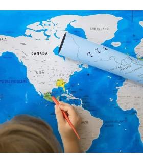 "Скреч карта на света – издание ""Океан"" - 1"
