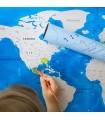 "Скреч карта на света – издание ""Океан"""
