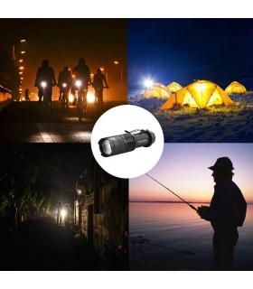 Малко LED фенерче 1000lm Q5 - 4