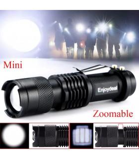 Малко LED фенерче 1000lm Q5 - 2