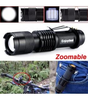 Малко LED фенерче 1000lm Q5 - 1