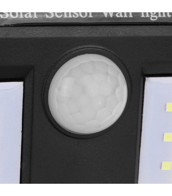 Водоустойчива външна соларна лампа с 40 диода и датчик за движение - 5