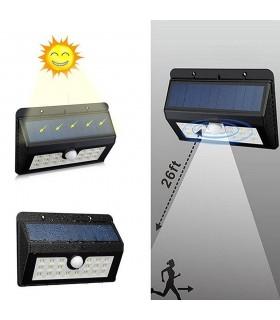 Соларна лампа със сензор за движение и 32 диода - 1