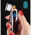 Слим USB запалка с тъч скрийн - модел 752