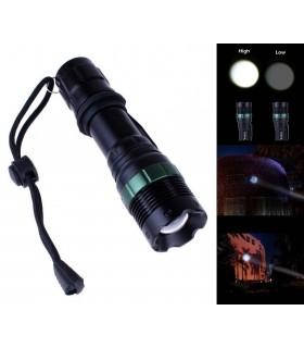 LED фенер с акумулаторна батерия, зарядно и ZOOM - 7