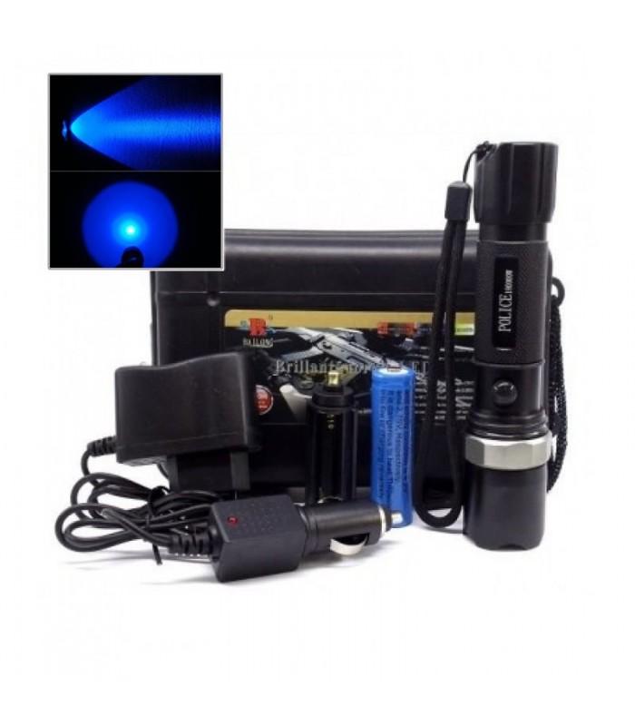 LED фенер със синя светлина - 3